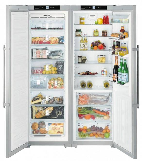 Americká lednička Liebherr SBSes 7263