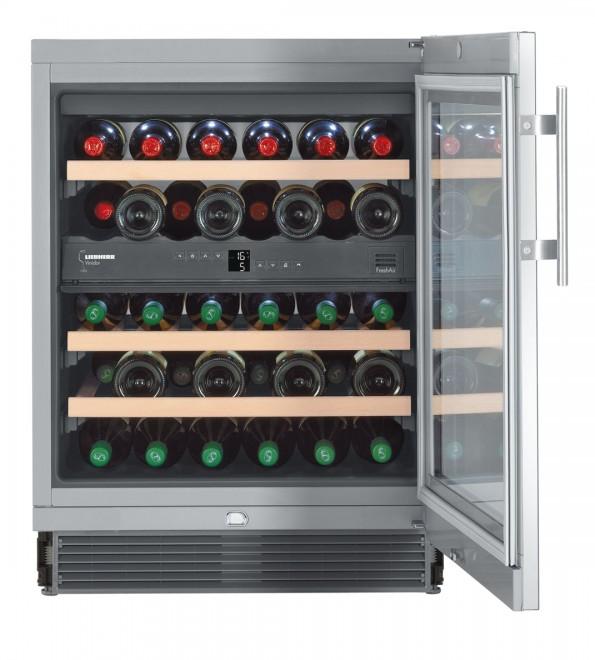 Vestavná chladnička na víno Liebherr UWTES 1672